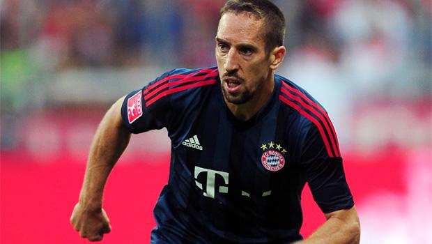 Bayern Munich winger Franck Ribery