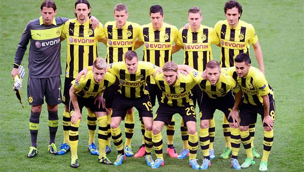 Borussia Dortmund on Bundesliga v Augsburg