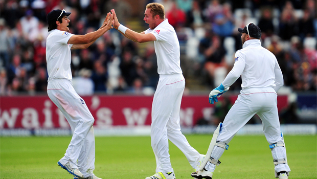 England captain Alastair Cook ashes victory Test
