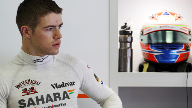 Force India Paul di Resta frustrated