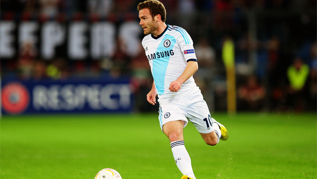 Juan Mata happy at Chelsea