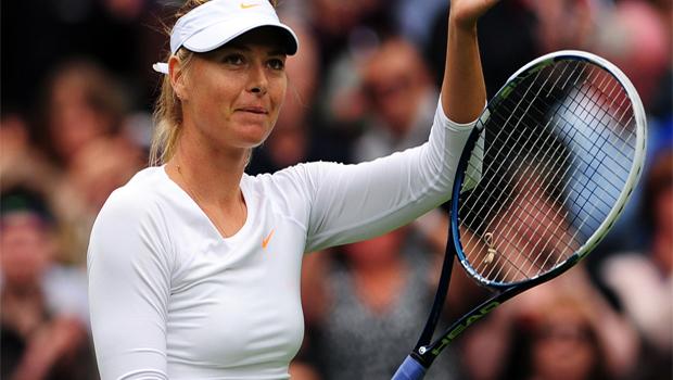 Maria Sharapova start of US Open
