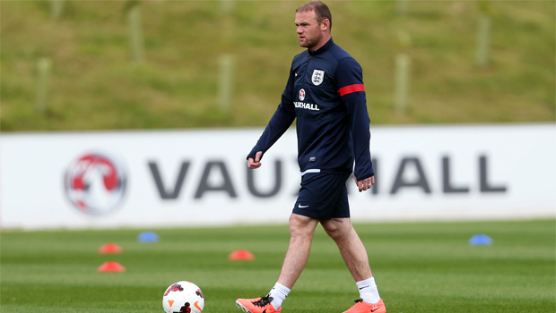 Wayne Rooney England friendly match