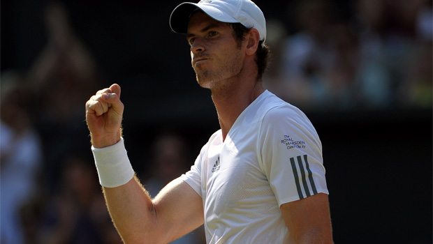 Andy Murray booked his place in US Open 2013