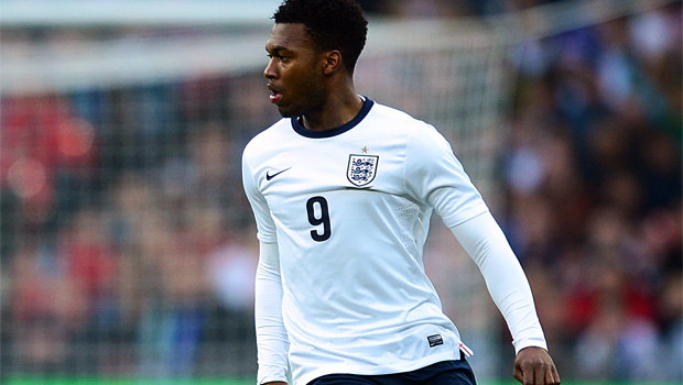 England striker Daniel Sturridge World Cup qualifier 2013