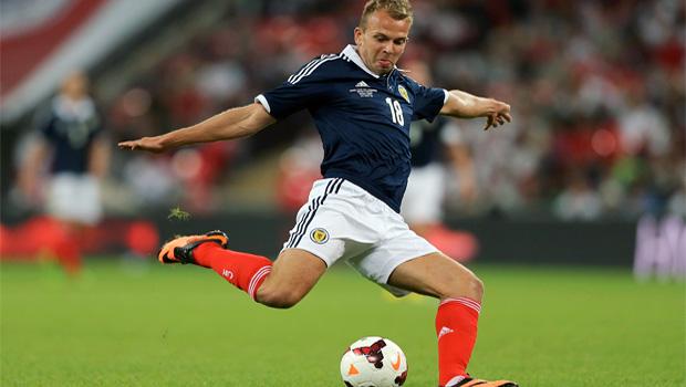Scotland striker Jordan Rhodes