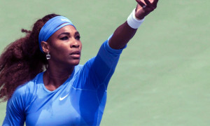 Serena Williams - the final of the US Open 2013