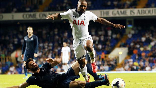 Tottenham striker Jermain Defoe net goal europa