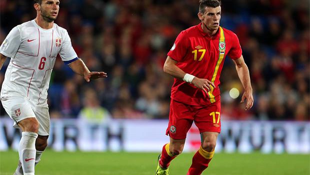 Wales striker Gareth Bale