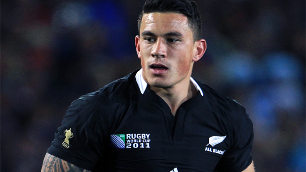 Kiwi star Sonny Bill Williams  rugby World Cup