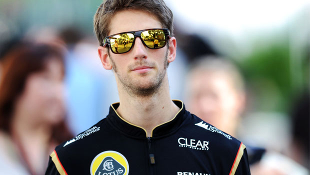 Lotus-driver-Romain-Grosjean