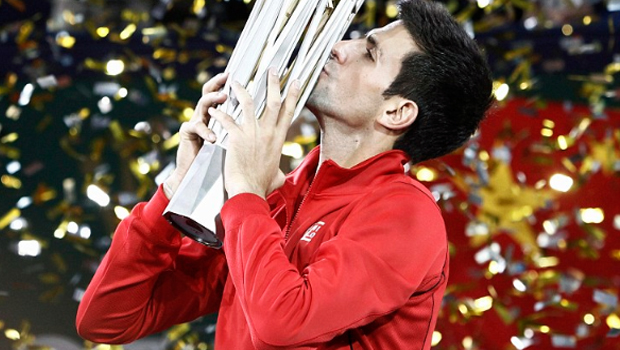 Novak Djokovic defeated Juan Martin Del Potro Shanghai Masters