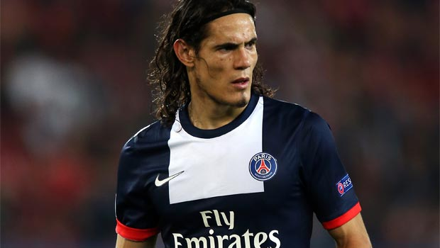 Paris-Saint-Germain-striker-Edinson-Cavani