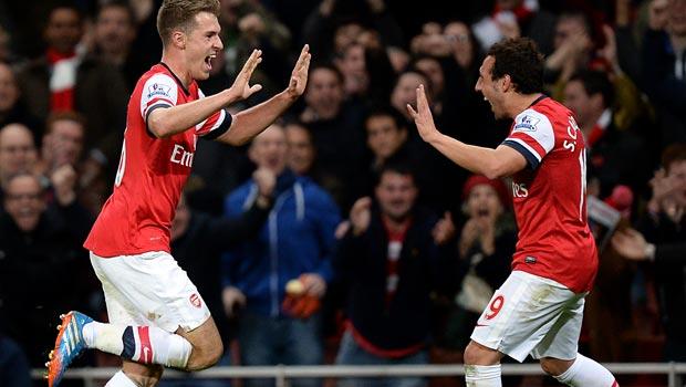 Aaron-Ramsey-and-Santi-Cazorla-Arsenal