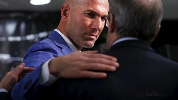 New-Real-Madrid-manager-Zinedine-Zidane