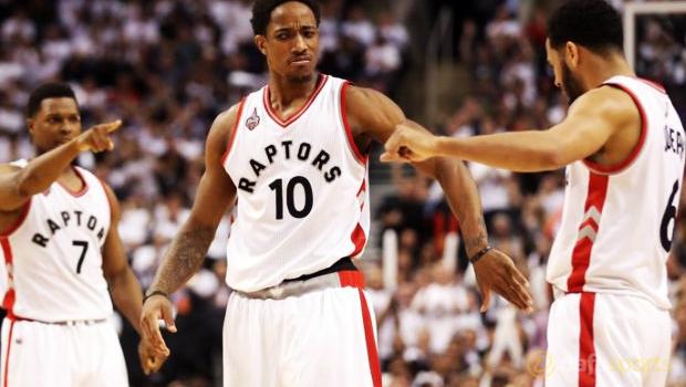 Toronto-Raptors-v-Miami-Heat