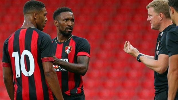 Eddie Howe Jermain AFC Bournemouth Premier League