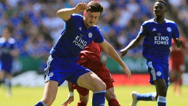 Harry Maguire Leicester City Premier League