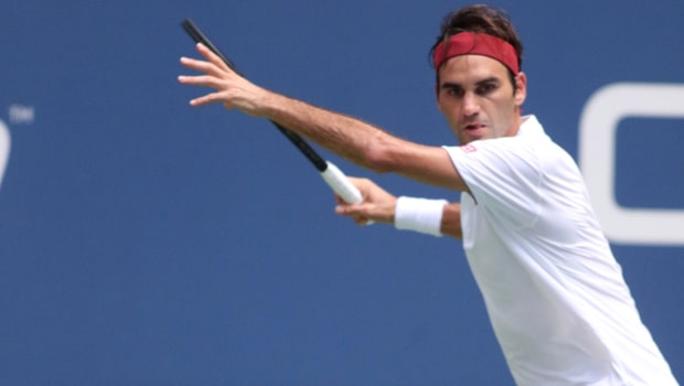 Roger Federer Fails to keep cool