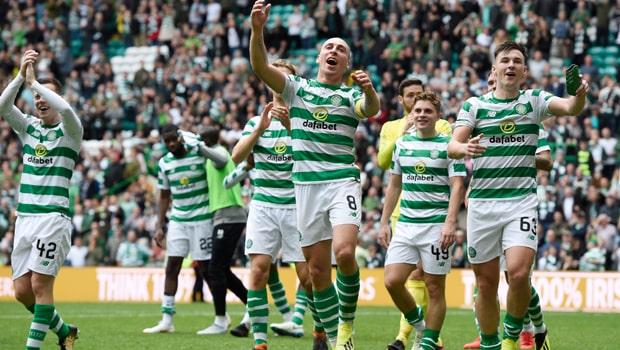 Scott Brown Celtic Scottish Premier League