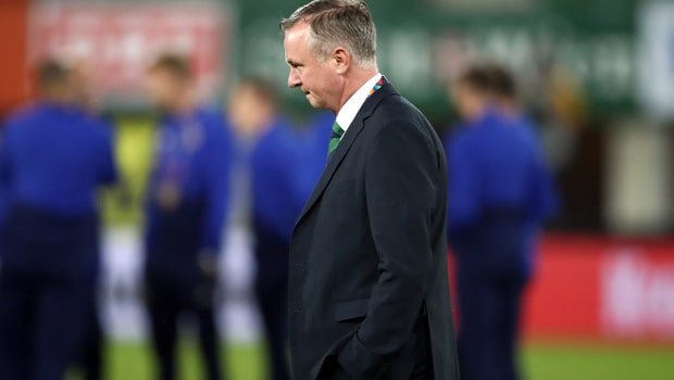 Michael O Neill Northern Ireland Manager Nations League