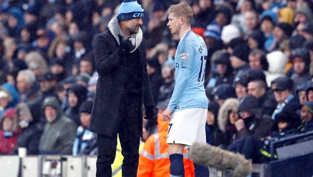 Pep-Guardiola-Kevin-De-Bruyne-Manchester-City