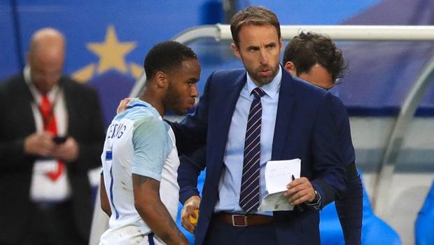 Gareth-Southgate-and-Raheem-Sterling-Euro-2020