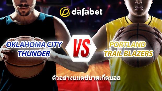 Thunder vs Trail Blazers TH