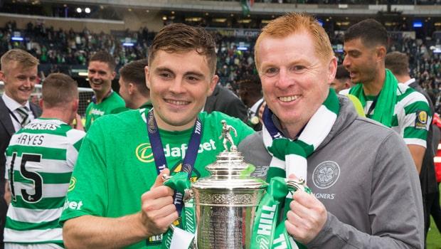 Neil Lennon Celtic 2019-Scottish Cup Champion