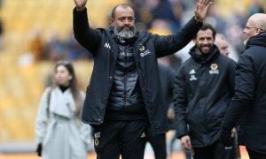 Nuno Espirito Santo Wolves coach