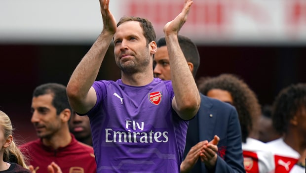 Petr Cech Arsenal Europa League