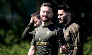Shkodran Mustafi Arsenal Europa League