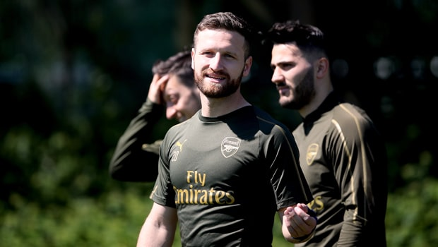 Shkodran Mustafi Arsenal Europa League