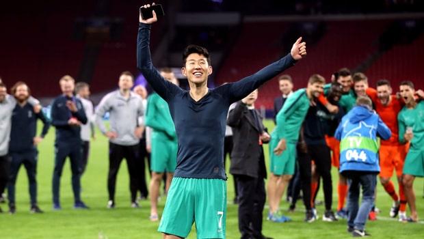 Son Heung min Tottenham Hotspur