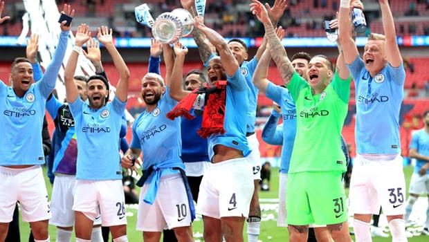 Vincent Kompany Manchester City FA Cup Final