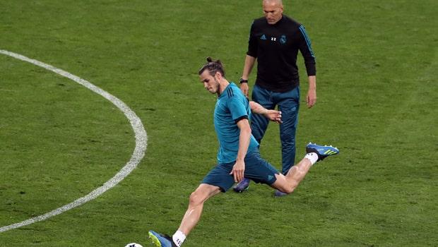 Zinedine Zidane Gareth Bale