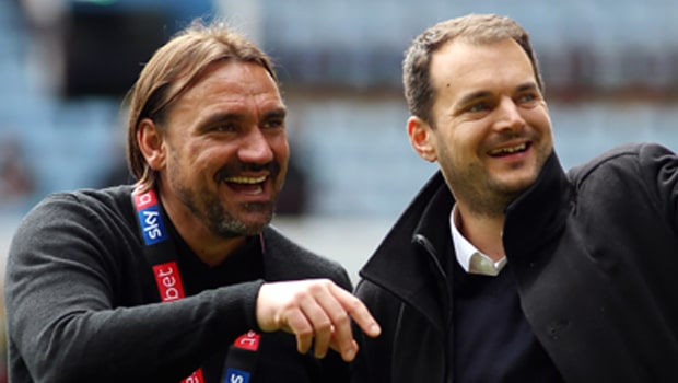 Daniel-Farke-and-Stuart-Webber-Norwich-City