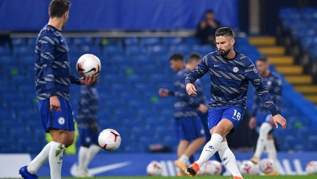 Olivier Giroud Chelsea Champions League