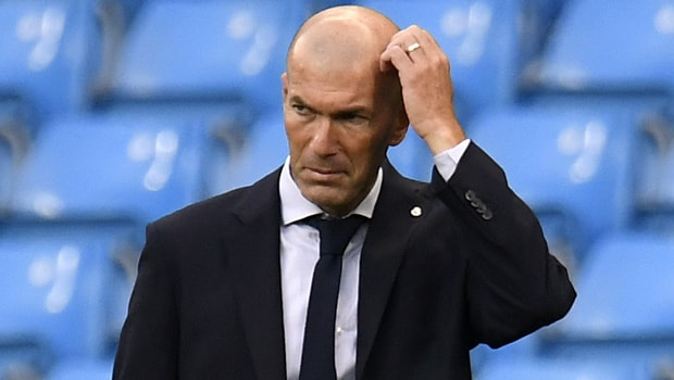 Zinedine Zidane Real Madrid manager