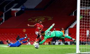 Marcus Rashford Man United Europa League