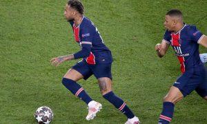 Neymar and Mbappe PSG