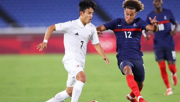 ฝรั่งเศส ตกรอบฟุตบอลโอลิมปิก หลังแพ้ ญีปุ่น