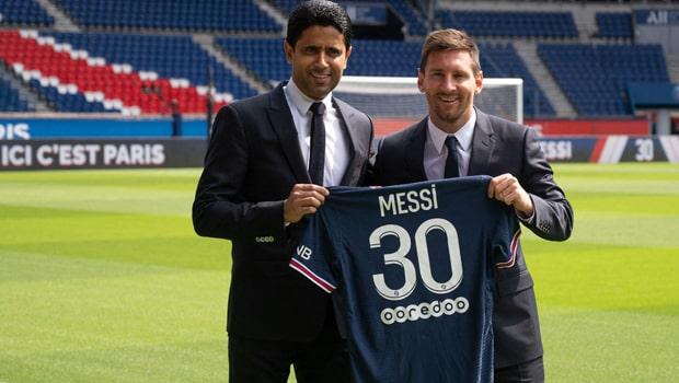 Lionel Messi Paris Saint-Germain